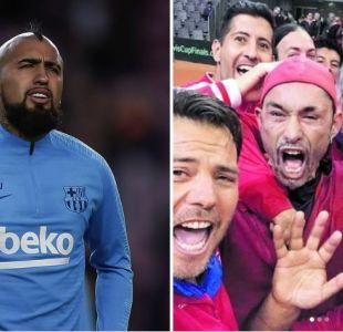 """El mensaje de Vidal tras la victoria de Chile en Copa Davis: """"Gracias por jugar con el corazón"""""""