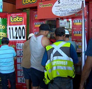 "[VIDEO] ""Fiebre del Loto"" por histórico pozo"