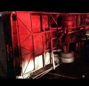 Accidente de tránsito dejó más de 40 lesionados en Osorno