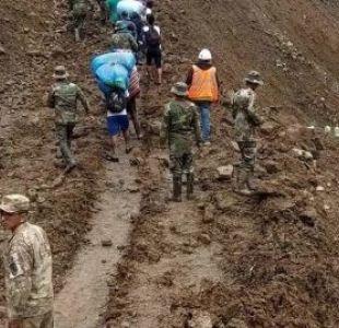 Deslizamientos de tierra en Bolivia dejan 14 fallecidos y 7 desaparecidos