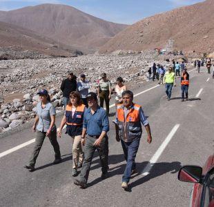 Suspenden tránsito de Ruta 5 entre regiones de Arica y Tarapacá