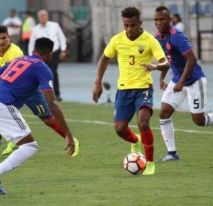 [VIDEO] Ecuador y Colombia no se hacen daño en la fase final del Sudamericano Sub 20