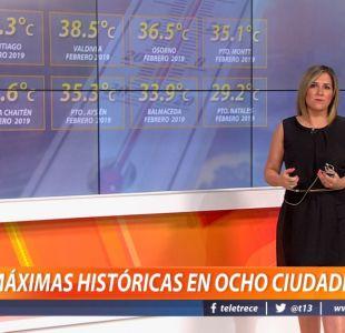 [VIDEO] Michelle Adam: Este martes será el día más caluroso de la semana