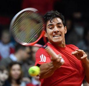 Garín llega sobre la hora a Argentina y se baja del ATP de Córdoba