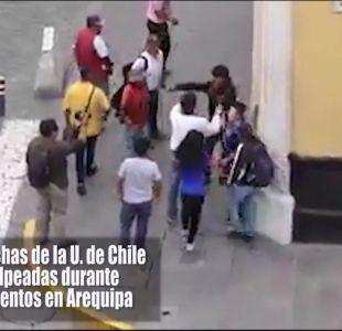 [VIDEO] Violenta previa copera de la U