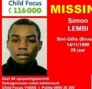 Adolescente desaparecido en Bélgica fue hallado 20 años después