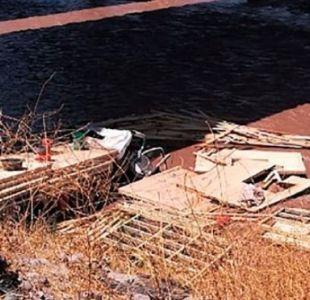 Conductor de camión muere tras caer al río Maipo