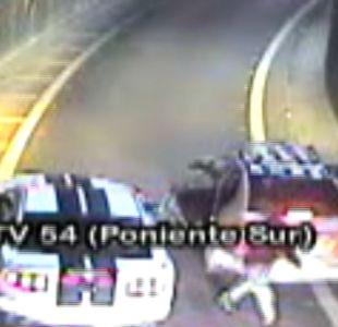 [VIDEO] Realizan emboscadas para asaltar en autopistas