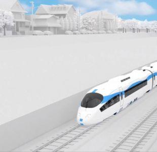 [VIDEO] El proyecto del tren rápido Valparaíso-Santiago