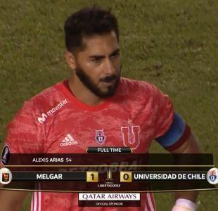 [VIDEO] Dura auto crítica de Johnny Herrera tras derrota contra Melgar