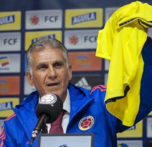 [VIDEO] Portugués Carlos Queiroz es el nuevo entrenador de la Selección Colombiana