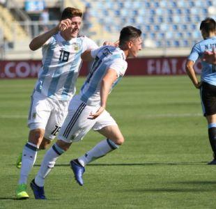 [VIDEO] Argentina vence a Uruguay y es el primer clasificado al Mundial de Polonia Sub 20