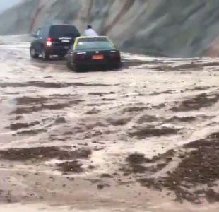 [VIDEOS] Usuarios comparten imágenes de la situación en Iquique producto de las lluvias