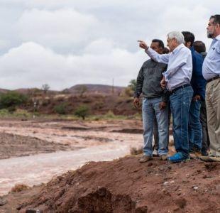 Piñera anuncia entrega de bonos para damnificados por invierno altiplánico en el norte