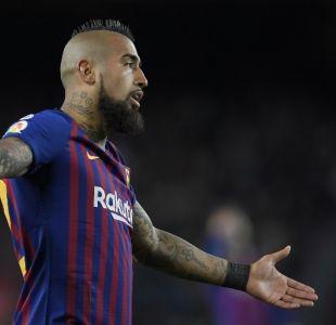 Arturo Vidal será titular en el encuentro del Barcelona