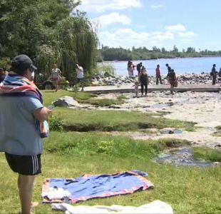 [VIDEO] Se suspendió fiesta en lago Ranco
