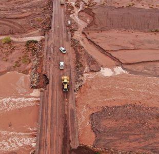 Gobierno compromete 60 mil millones de pesos para reponer infraestructura dañada en el norte
