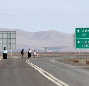 [Minuto a Minuto] Ruta 5 Norte se mantendrá abierta hasta las 22:00 horas en trayecto Arica-Iquique