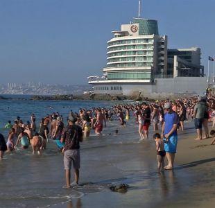 [VIDEO] Peligro en las playas de Valparaíso