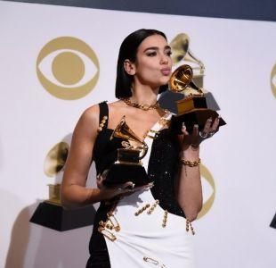 Dua Lipa se lleva el Grammy en la categoría de Mejor Nuevo Artista