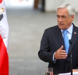 """Piñera sobre Bachelet y Venezuela: """"Ella conoce sus obligaciones"""""""