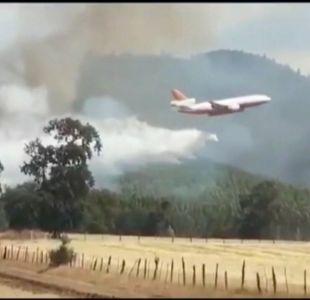 [VIDEO] Dos súper aviones combatirán incendios forestales