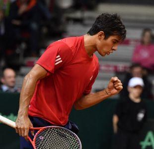 Christian Garín vence al canadiense Felix Auger-Aliassime en el ATP de Buenos Aires