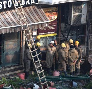 Incendio en Nueva Delhi