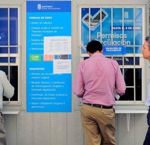Permiso de circulación 2019: 98% de multas impagas son de la Región Metropolitana