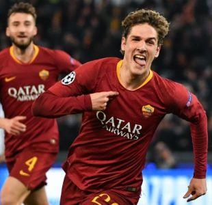 Roma vence a Porto por una mínima diferencia y deja abierta la llave en la Champions