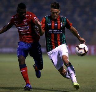 [VIDEO] Así regresó Roberto Gutiérrez a Santiago tras sufrir lesión en Colombia por la Libertadores