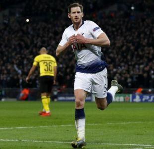 Tottenham se adelanta 3-0 al Dortmund en los octavos de la Champions