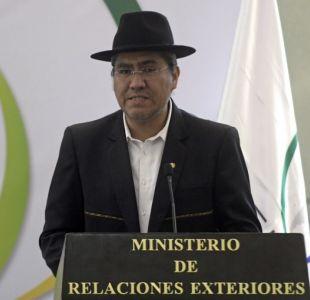 Bolivia pide a Chile un diálogo sobre una salida al mar a corto o mediano plazo