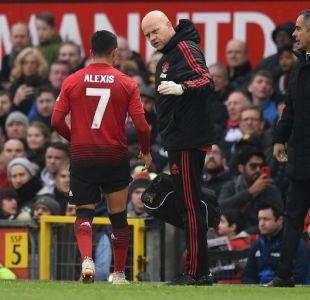 La increíble y absurda lesión de Alexis Sánchez contra el PSG en Champions League