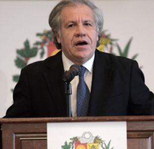 Almagro: la mejor ayuda humanitaria es que Maduro se vaya