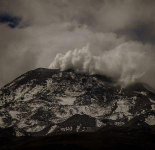Volcán de Nevados de Chillán registra dos eventos explosivos