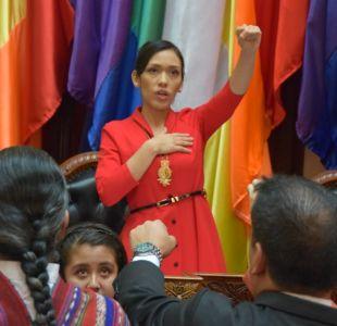 Presidenta del Senado boliviano renuncia a nacionalidad chilena