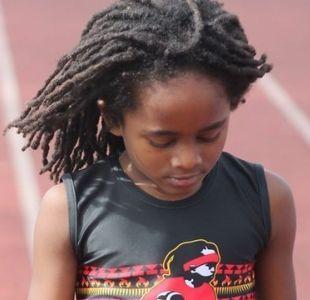 El niño de 7 años que corre los 100 metros planos en 14 segundos y ya lo comparan con Usain Bolt