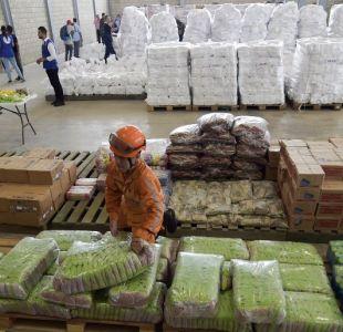 Chile prepara 17 toneladas de ayuda humanitaria para Venezuela