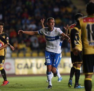 Católica se impone a Coquimbo en el comienzo del campeonato nacional