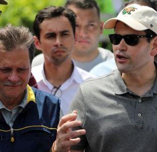 Marco Rubio llega a Colombia para supervisar la ayuda para Venezuela
