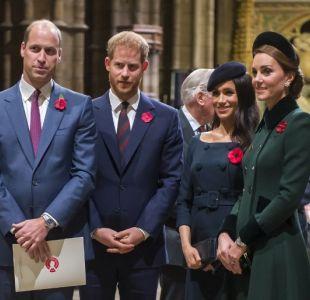La drástica decisión que Harry y William tomaron para aliviar la tensión entre Meghan y Kate