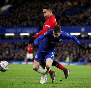 Con Alexis en cancha el Manchester United dio cuenta del Chelsea y avanza en la Copa FA