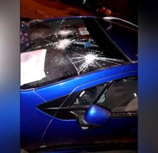 [VIDEO] Ex pareja la amenazó y destrozó su auto