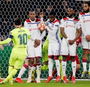 Barcelona consigue un empate en su visita al Lyon por la Champions