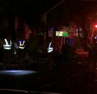[VIDEO] Accidente de tránsito deja dos muertos en Providencia