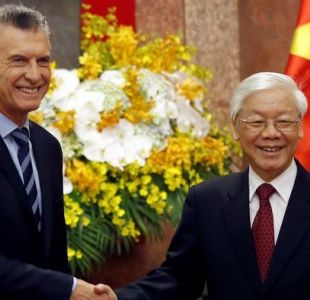 Macri busca con su gira asiática la apertura de la economía argentina