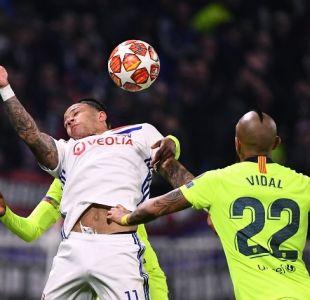 Ernesto Valverde explicó por qué Arturo Vidal fue suplente en Champions League
