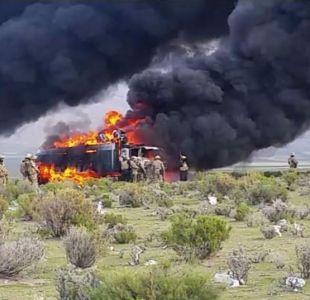 [VIDEO] Un muerto deja choque de militares y contrabandistas en frontera con Chile