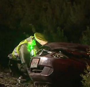 [VIDEO] Accidente vehicular deja dos fallecidos en la Autopista del Sol